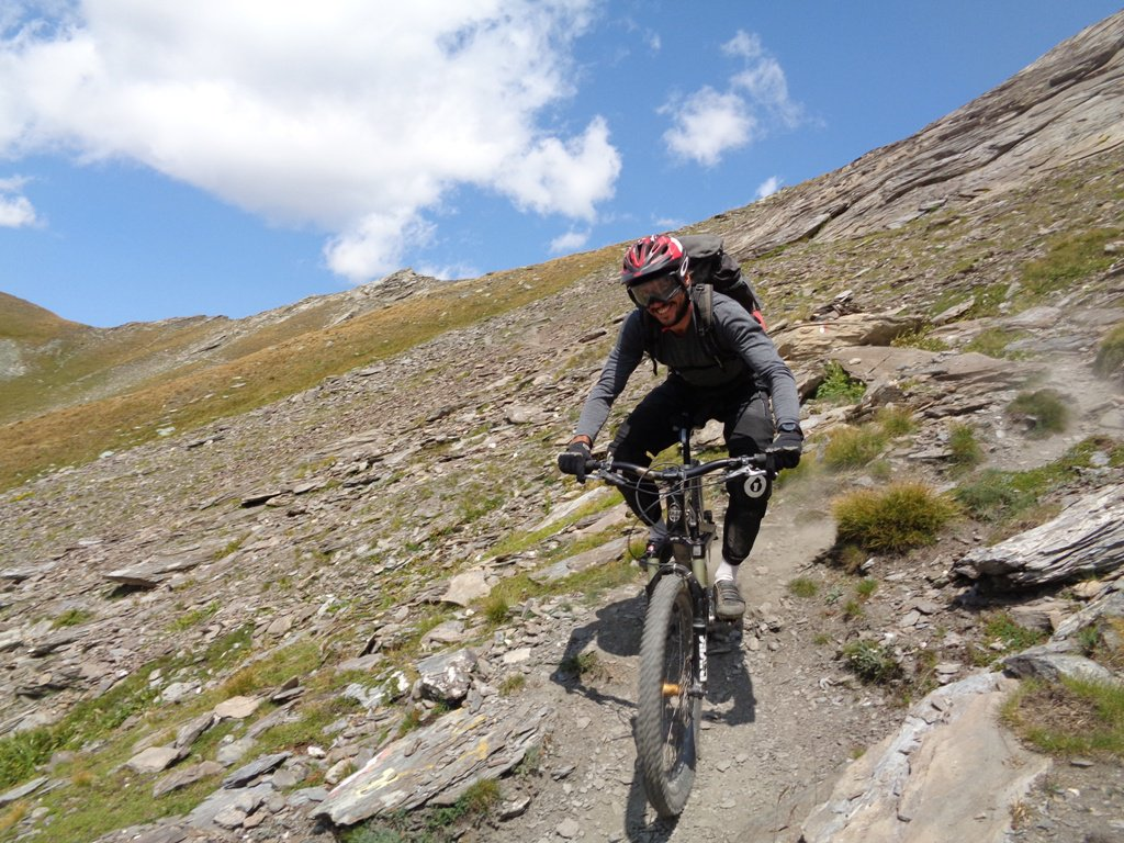 acrobatico biker francese