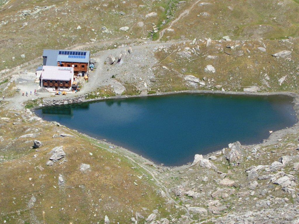 dal colle Bucie Rifugio e Lago Verde