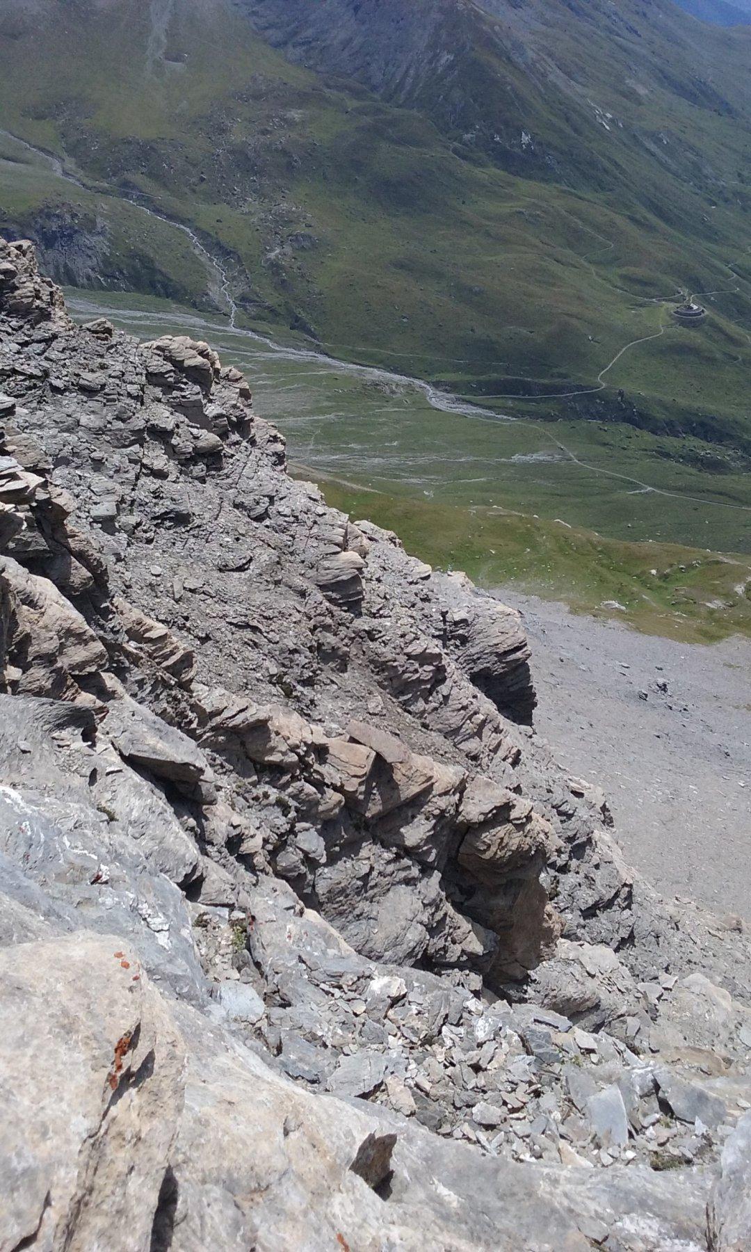 Particolare dalla vetta sul versante del Moncenisio
