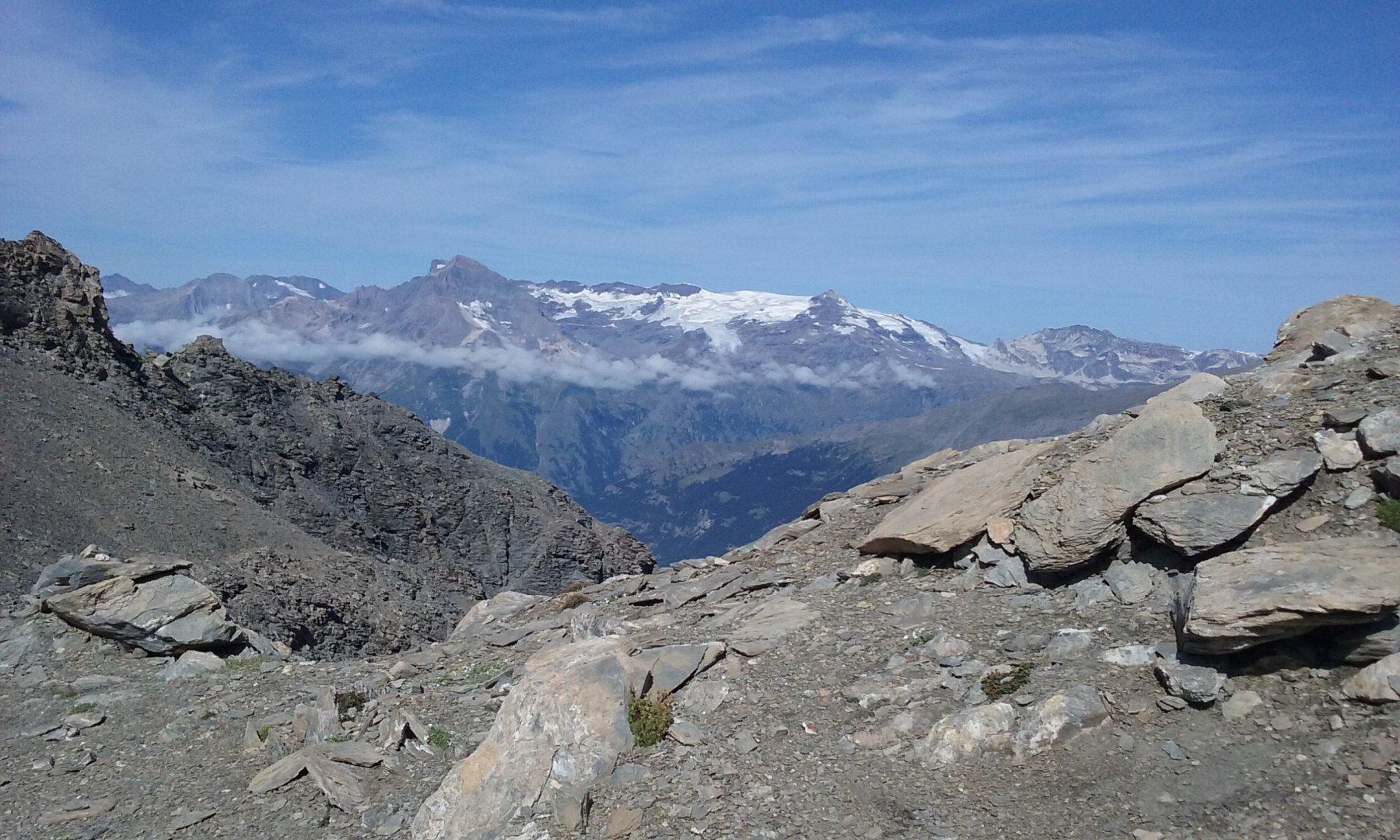 Il Dome de l'Arpont e le condizioni del ghiacciaio...