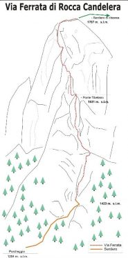 mappa ferrata