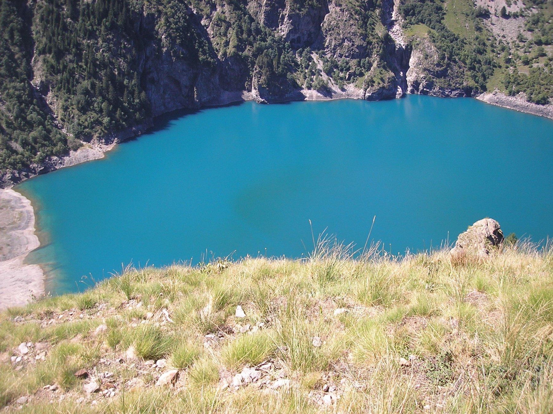 Lac de Lauvitel in discesa