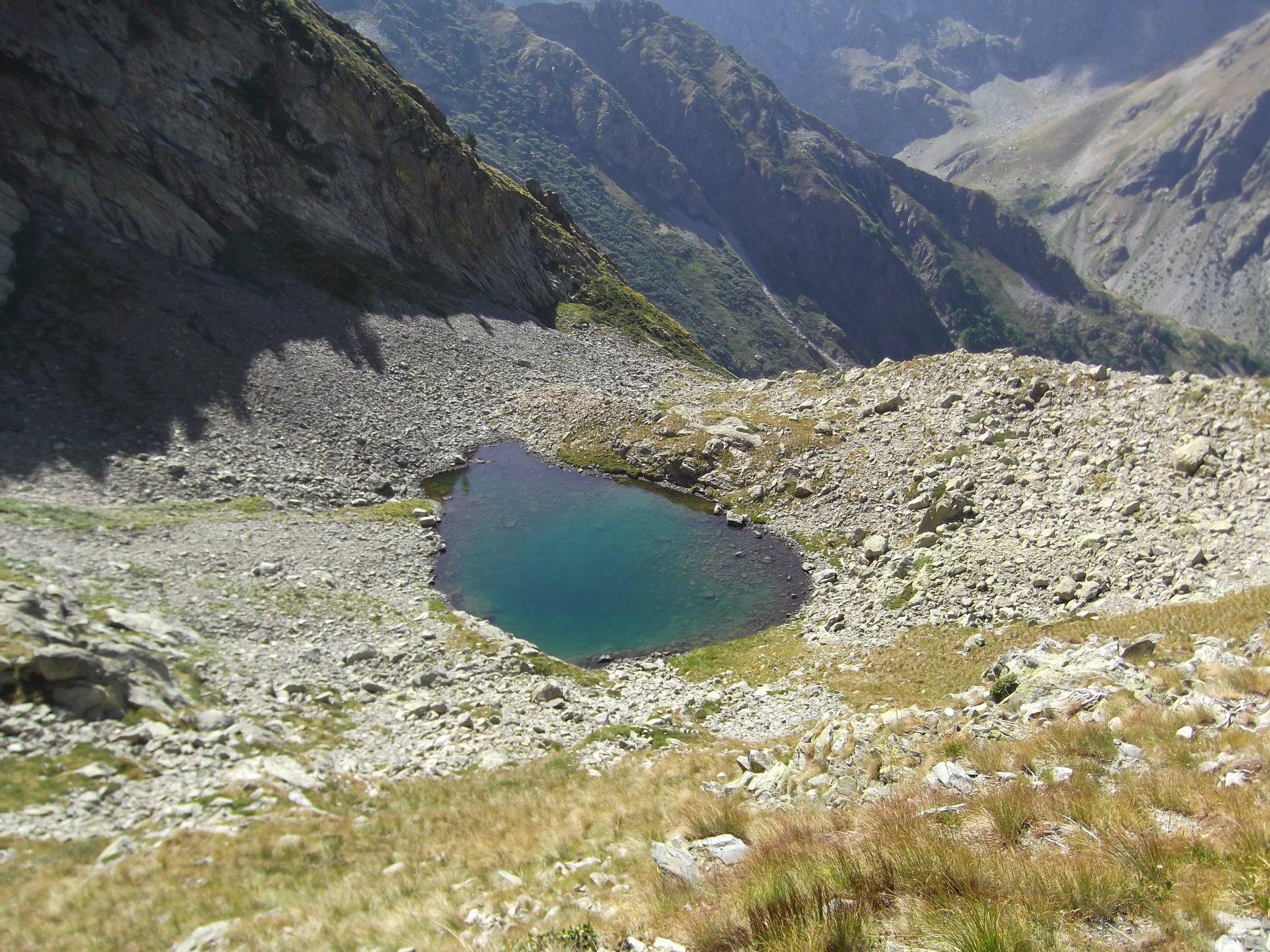 Lago della Siula.