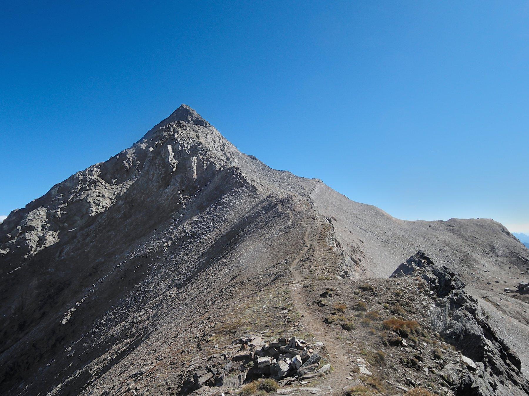 Sentiero dal Passo Terrarossa alla cresta Sud-Ovest