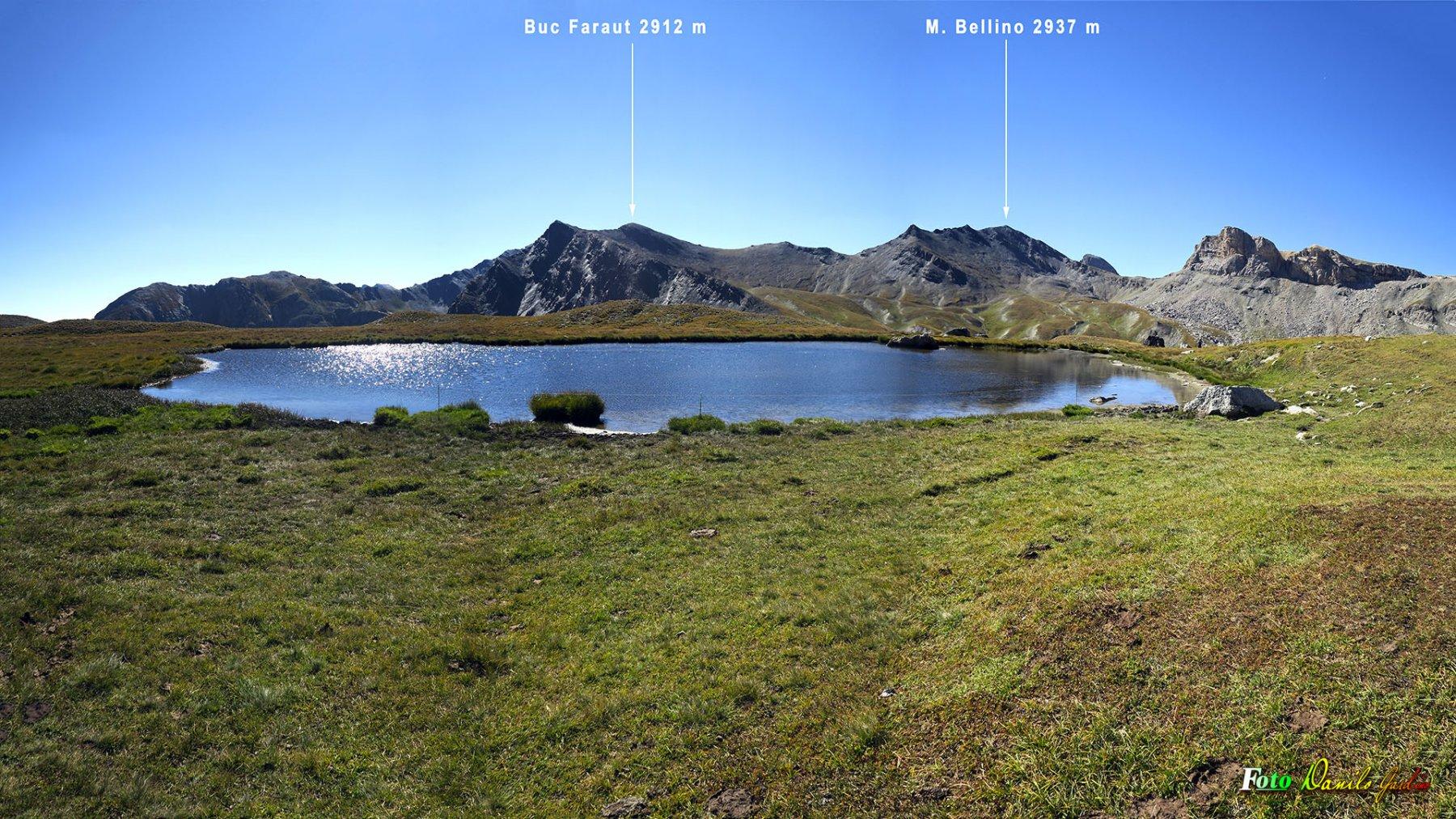Panorama dal Lago de l'Autaret