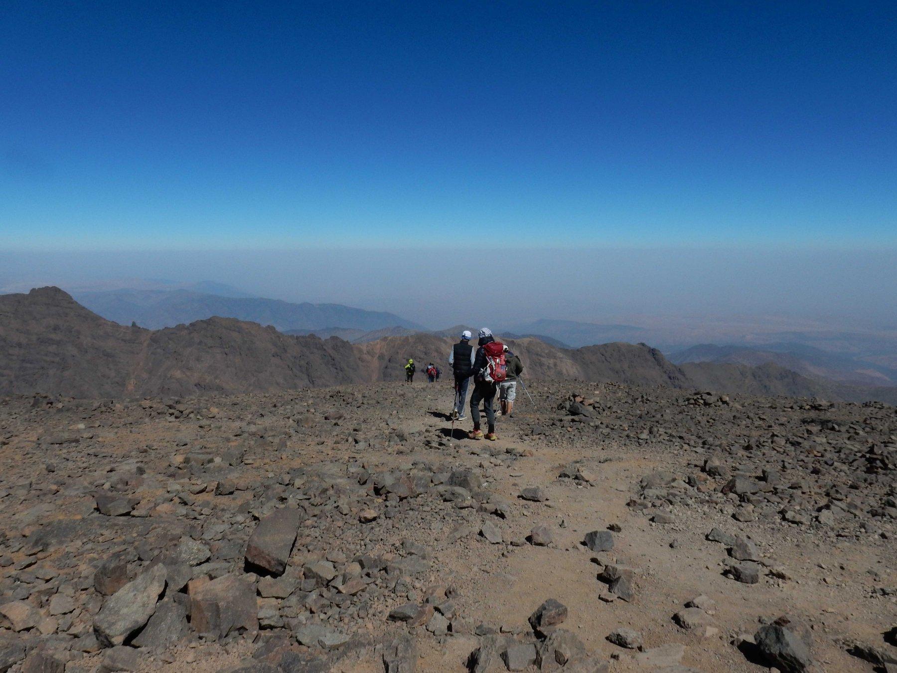 Jebel Toubkal Via Normale da Imlil 2017-08-22