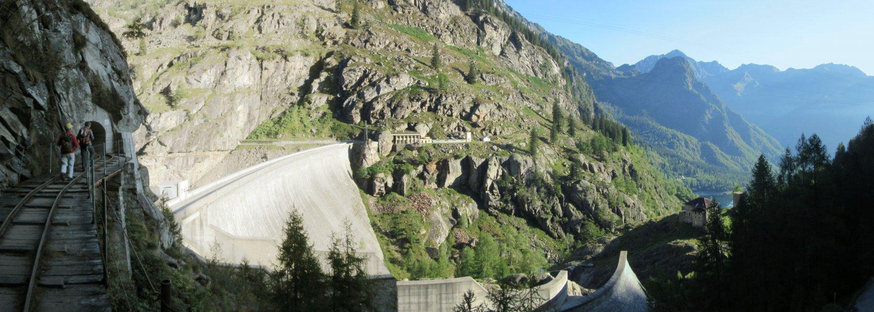 La partenza dal Lago di Campiccioli