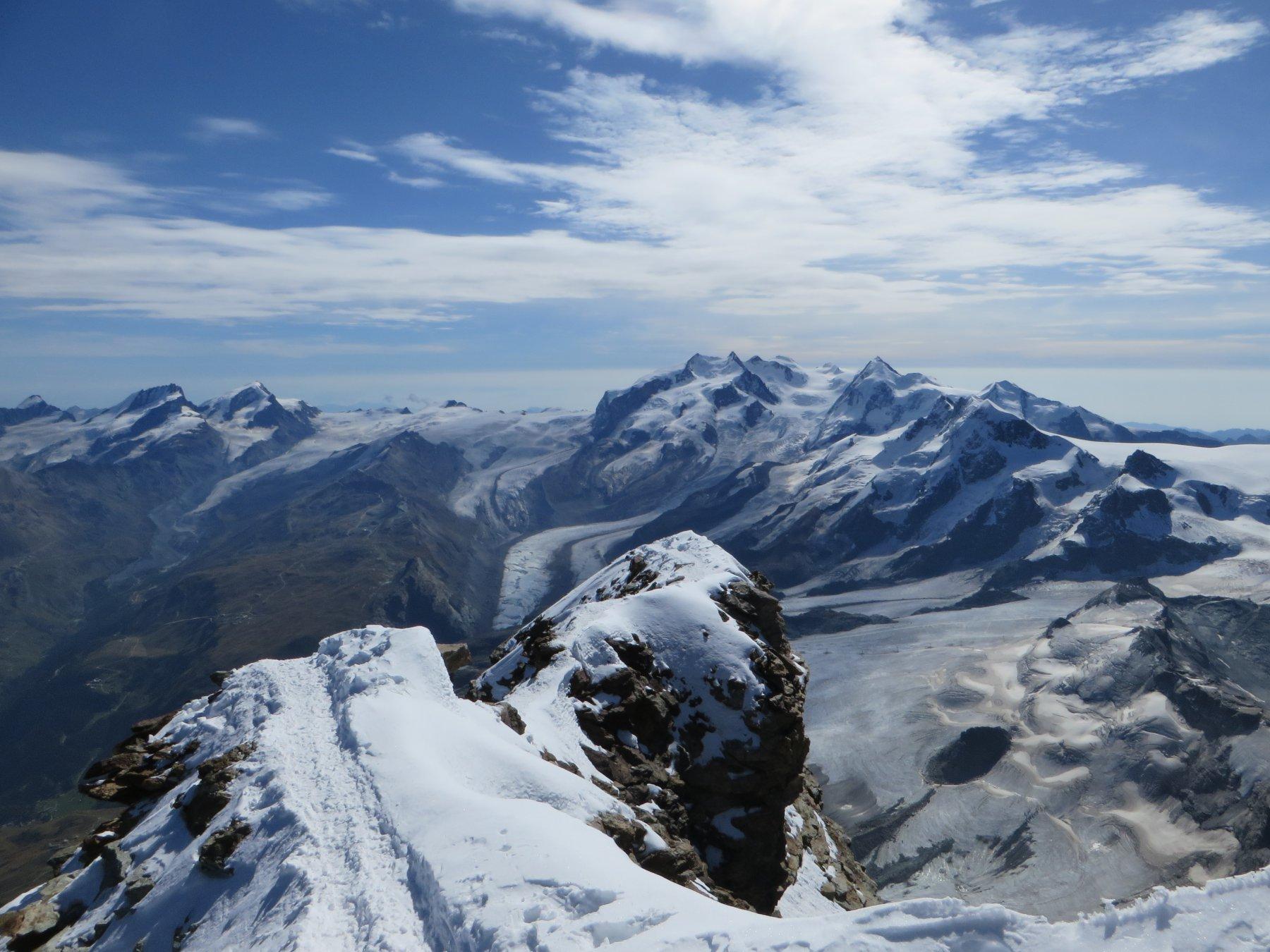 Panorama dalla Cima svizzera