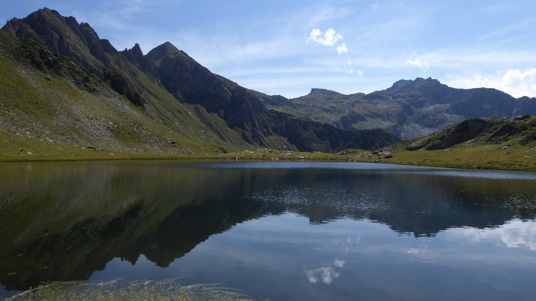 Lago grande di Santanel