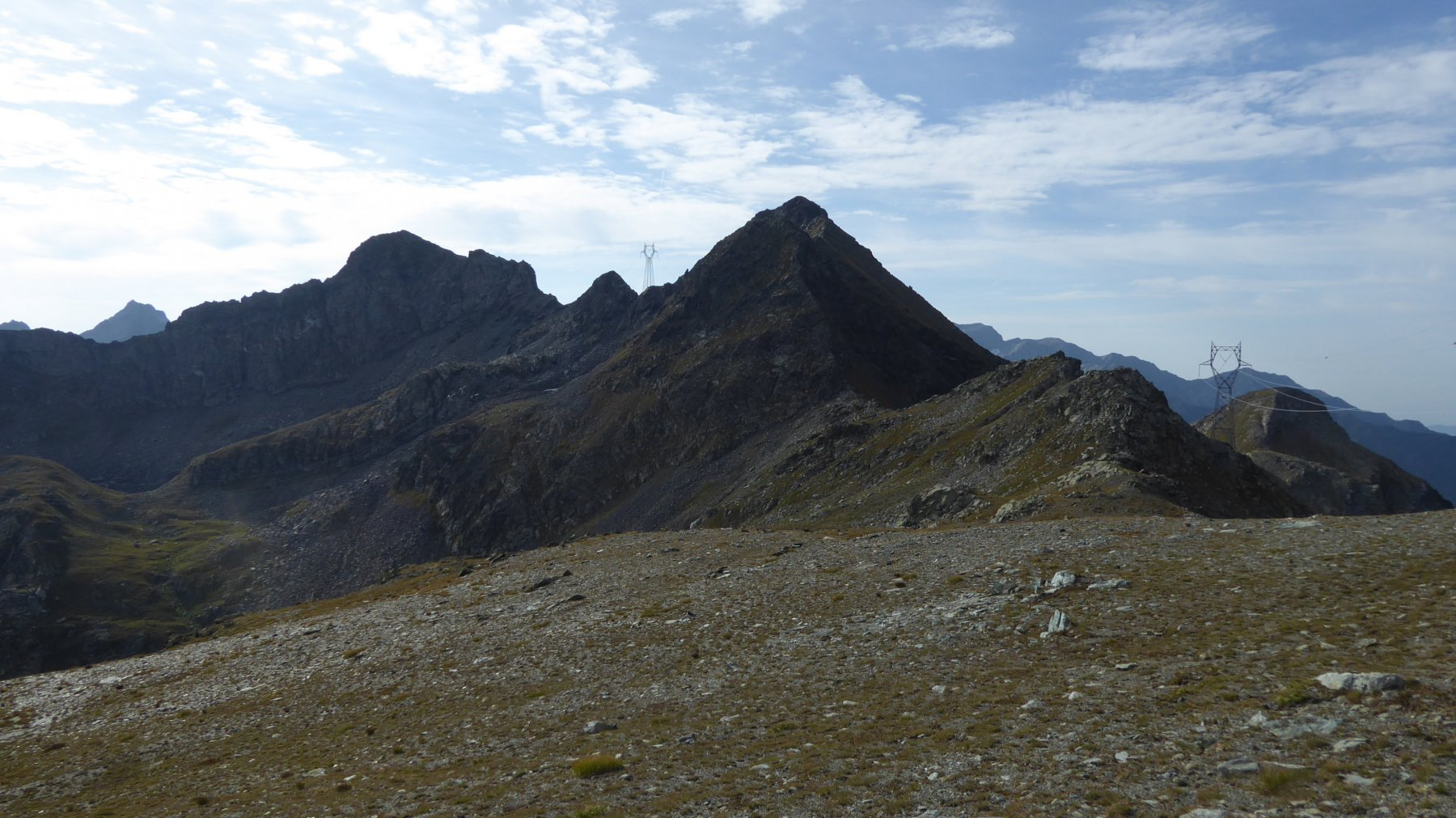 Verso il Monte Nero e il Monte Santanel