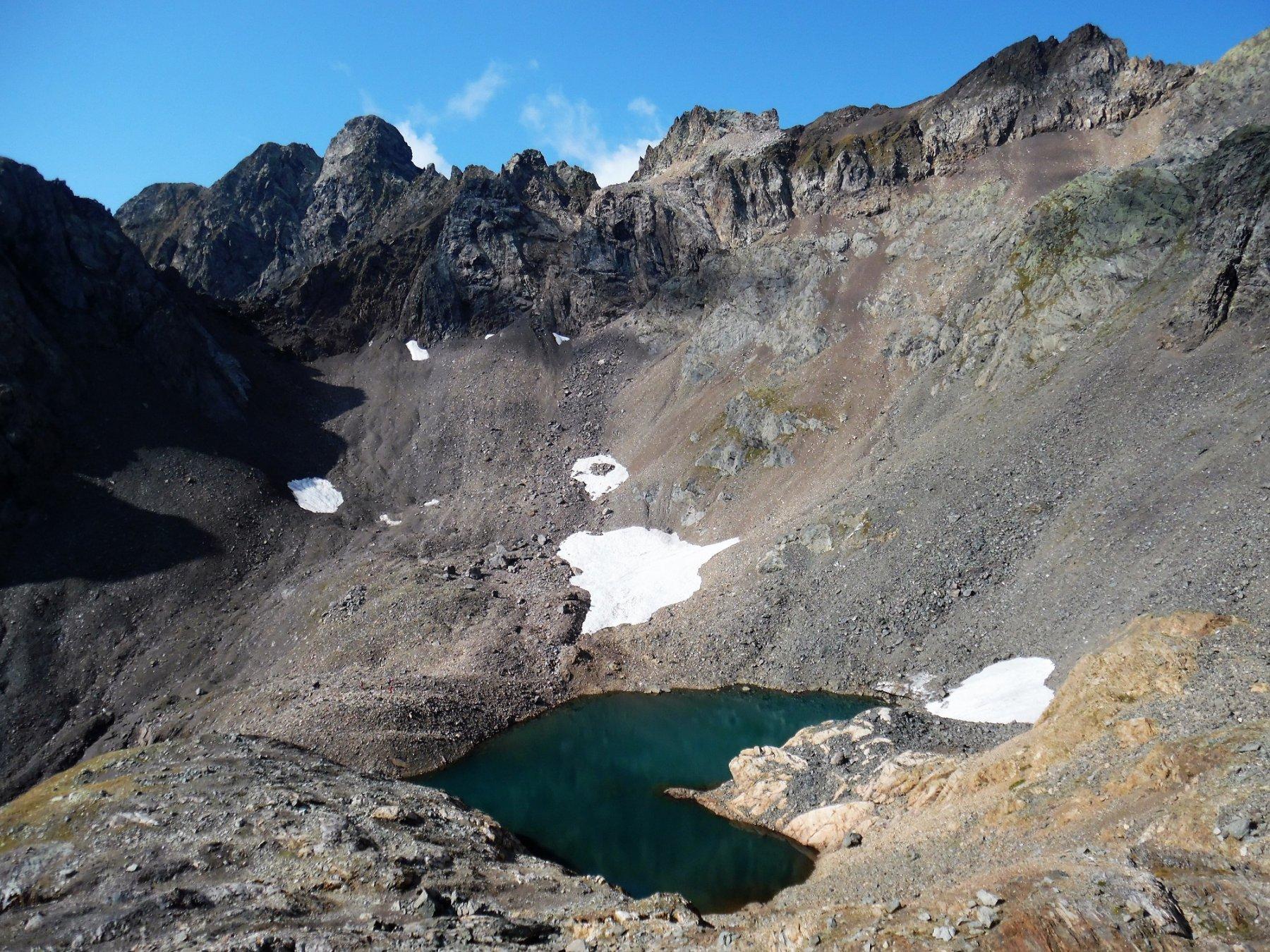 Lago alto di Malgina 2520 m