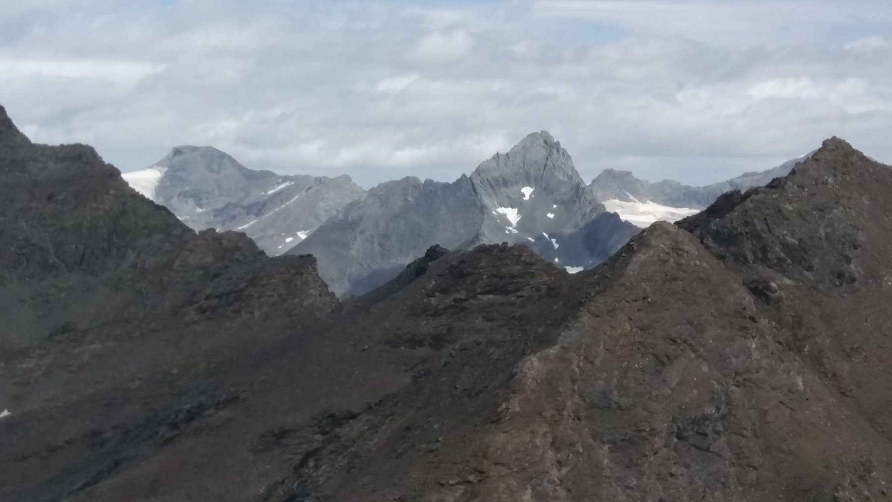 Dalla cima, Bessanese e Albaron