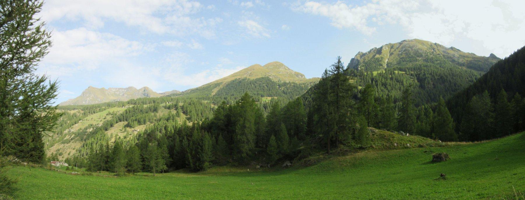 Il verde vallone di Graines