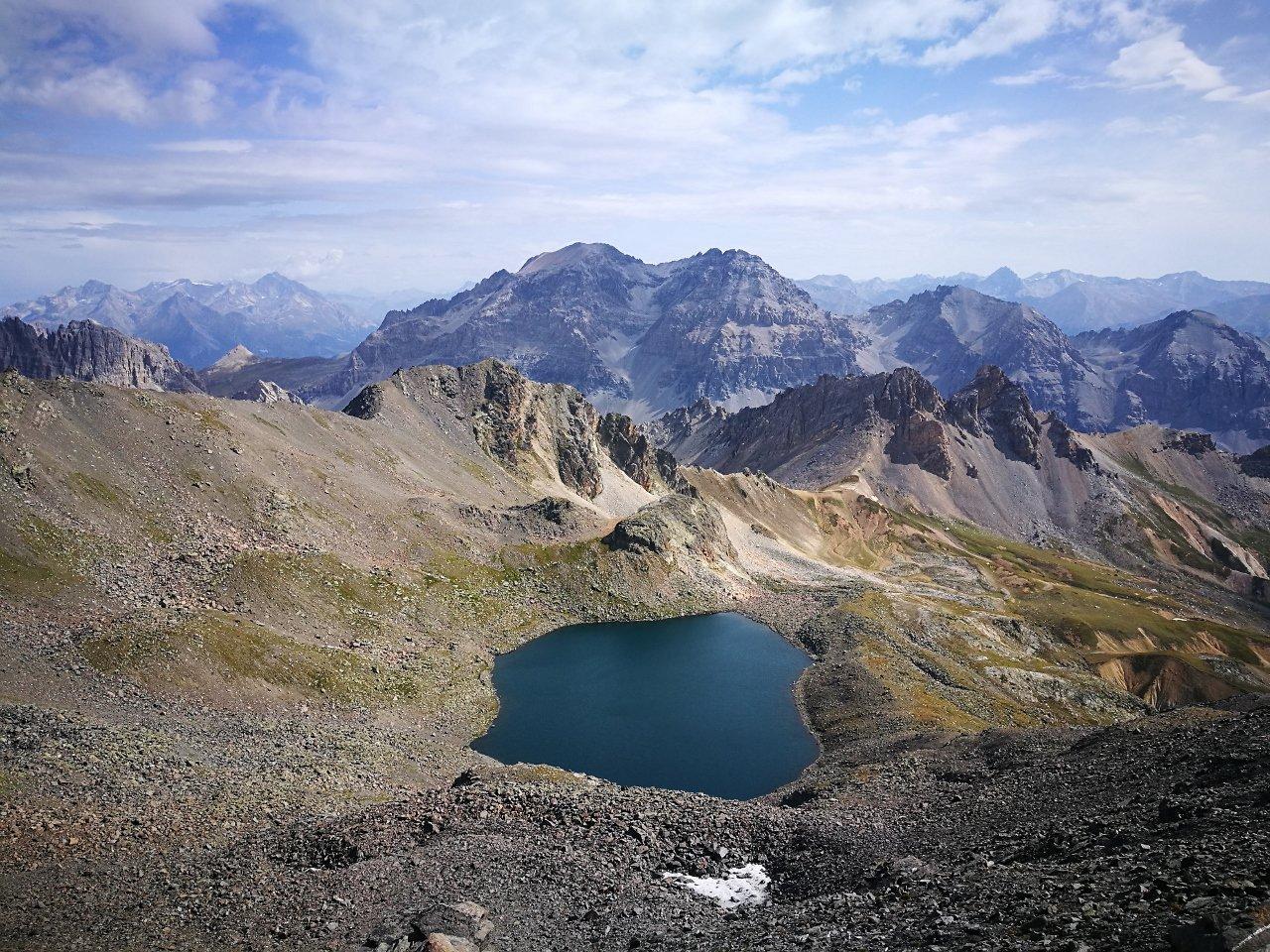 03 - il Lac Blanc ed i re Magi sullo sfondo