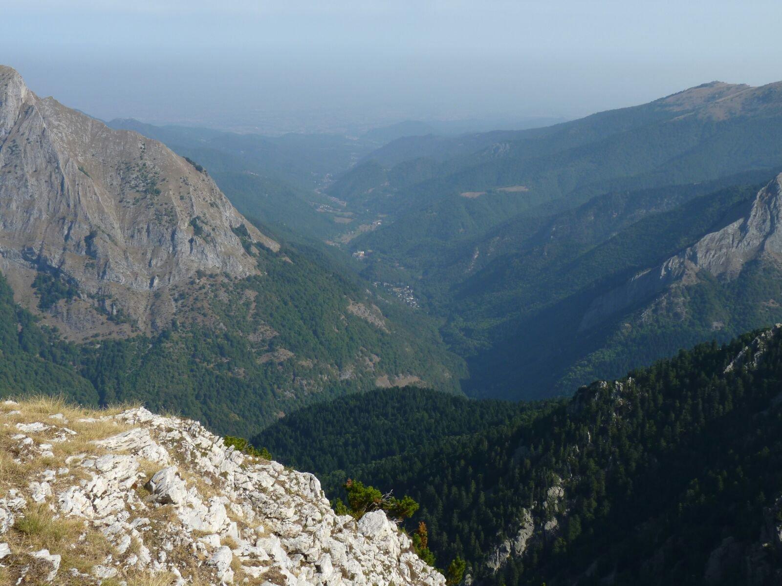 panorama sulla Val Pesio