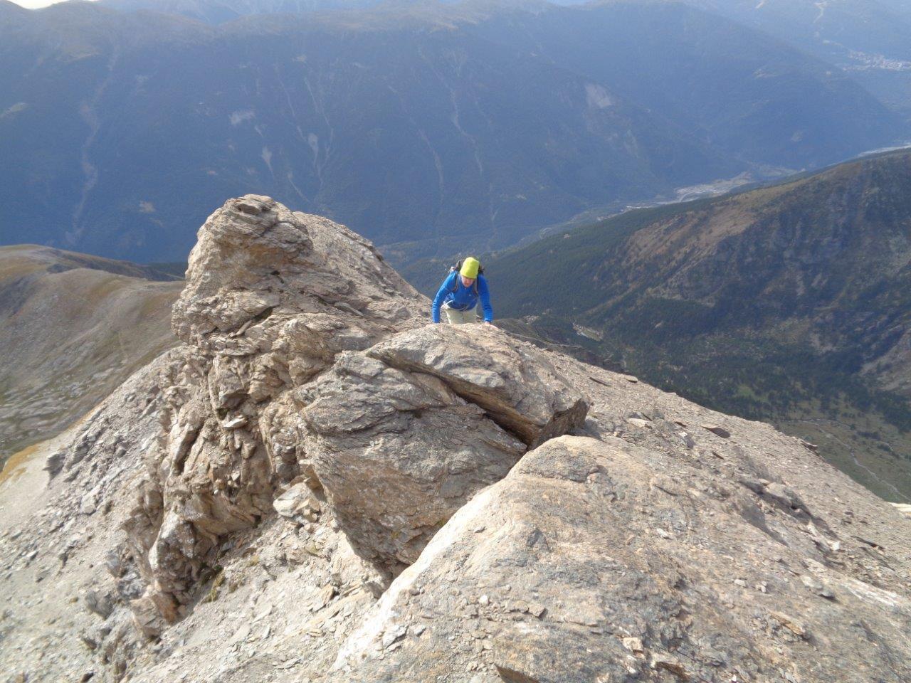Niblè (Monte) Cresta Sud-Est dal Passo Clopaca 2017-08-26