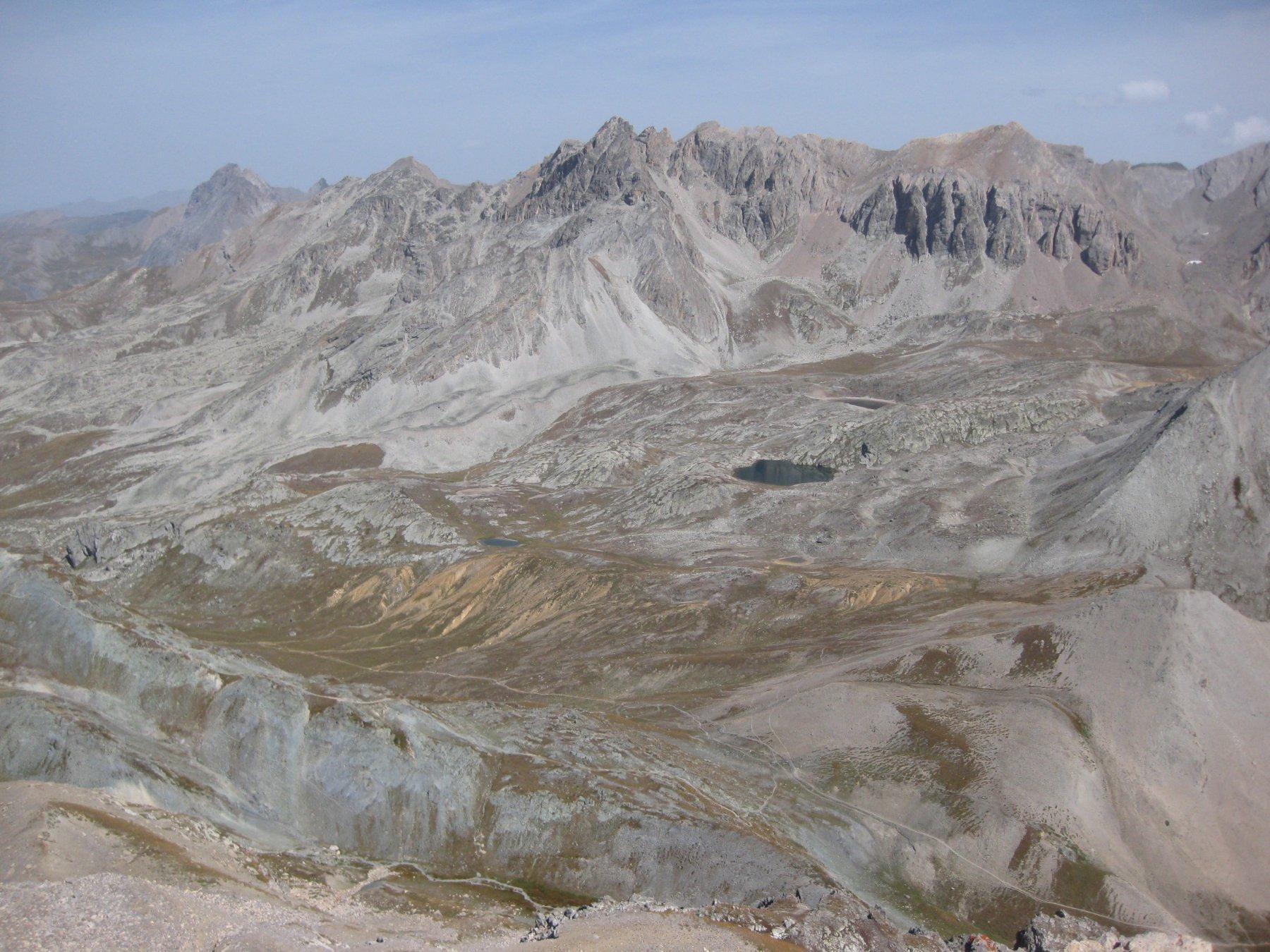 Ciaslaras (Monte) da Grange Ciarviera, anello per i valloni Maurin e Infernetto 2017-08-27