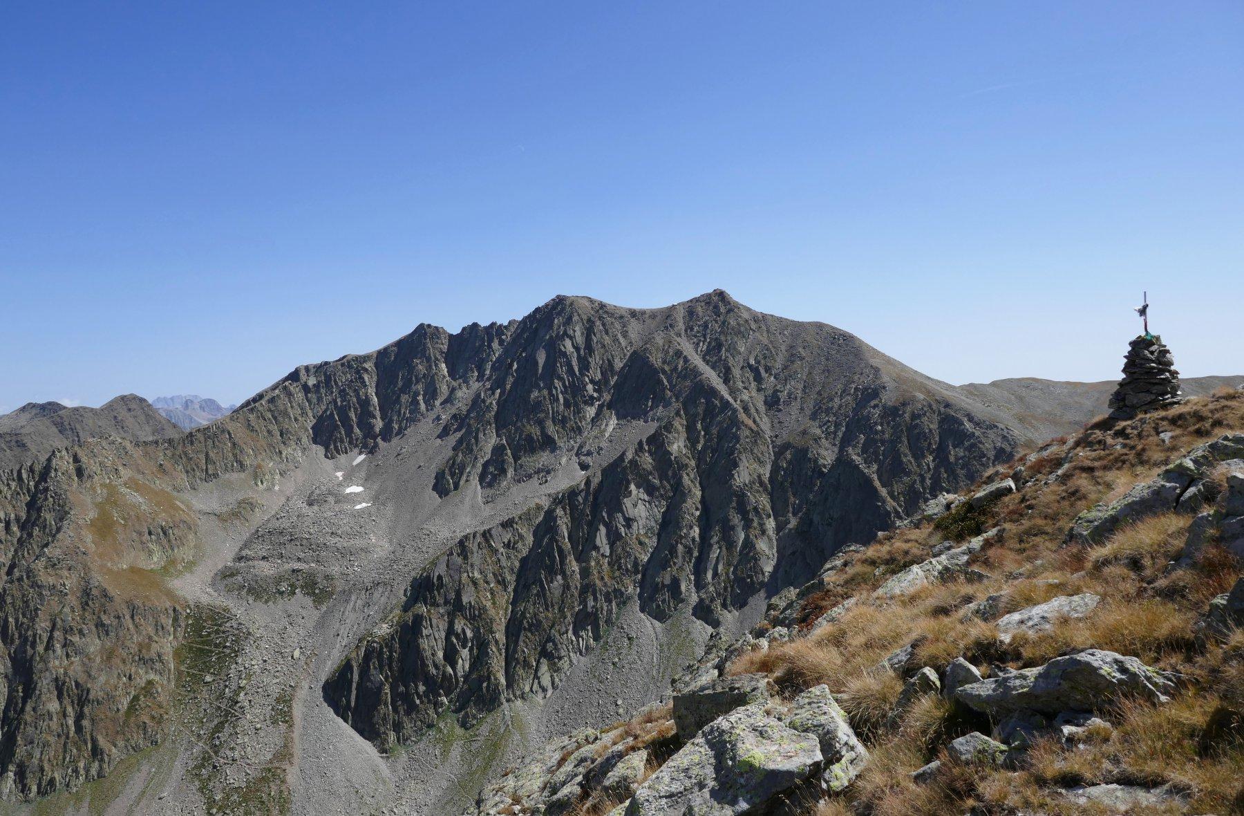 Dalla cima di Seccia (ora Tommy) vista sulla Serriera dell' Autaret