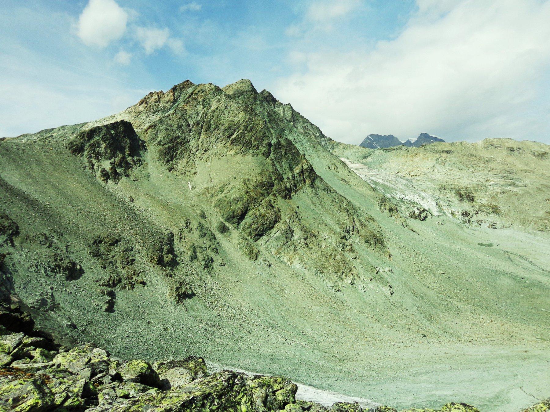 Mont Gelè e Gran Combin dal Colle Crète Seche