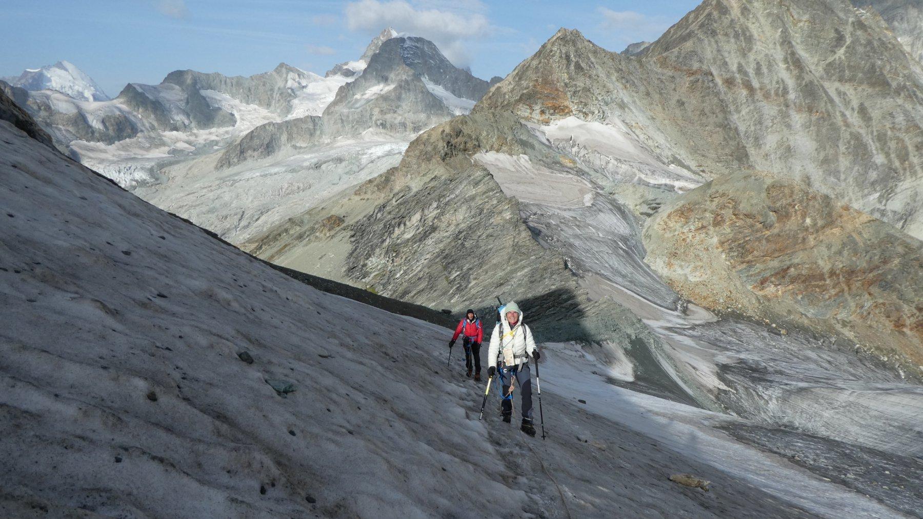 Mettelhorn e Platthorn Via Normale da Zermatt per il Vallone del Triftbach 2017-08-27