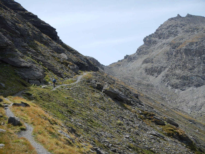 il sentiero verso il Pas della Beccia