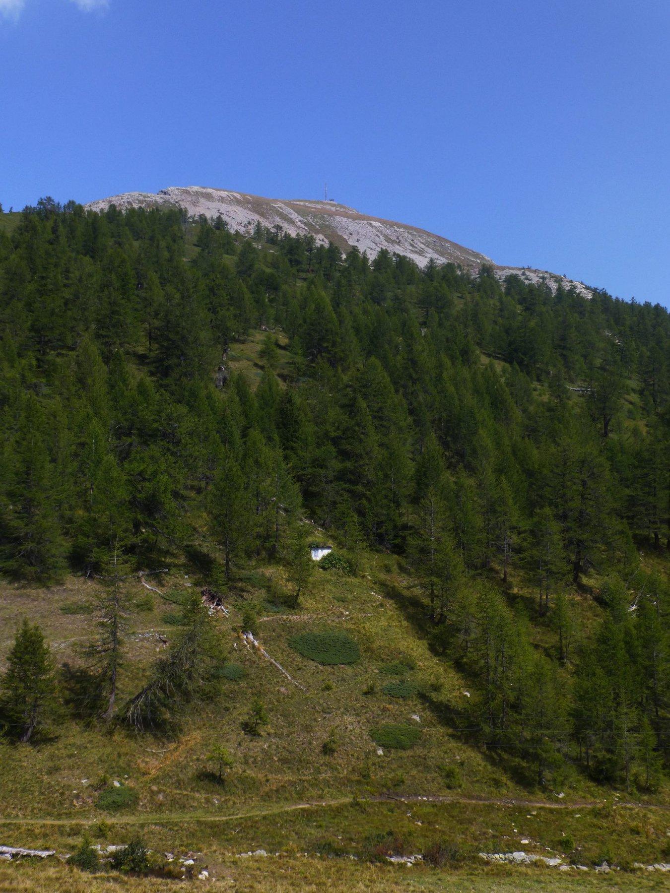 La cima vista da Furggu