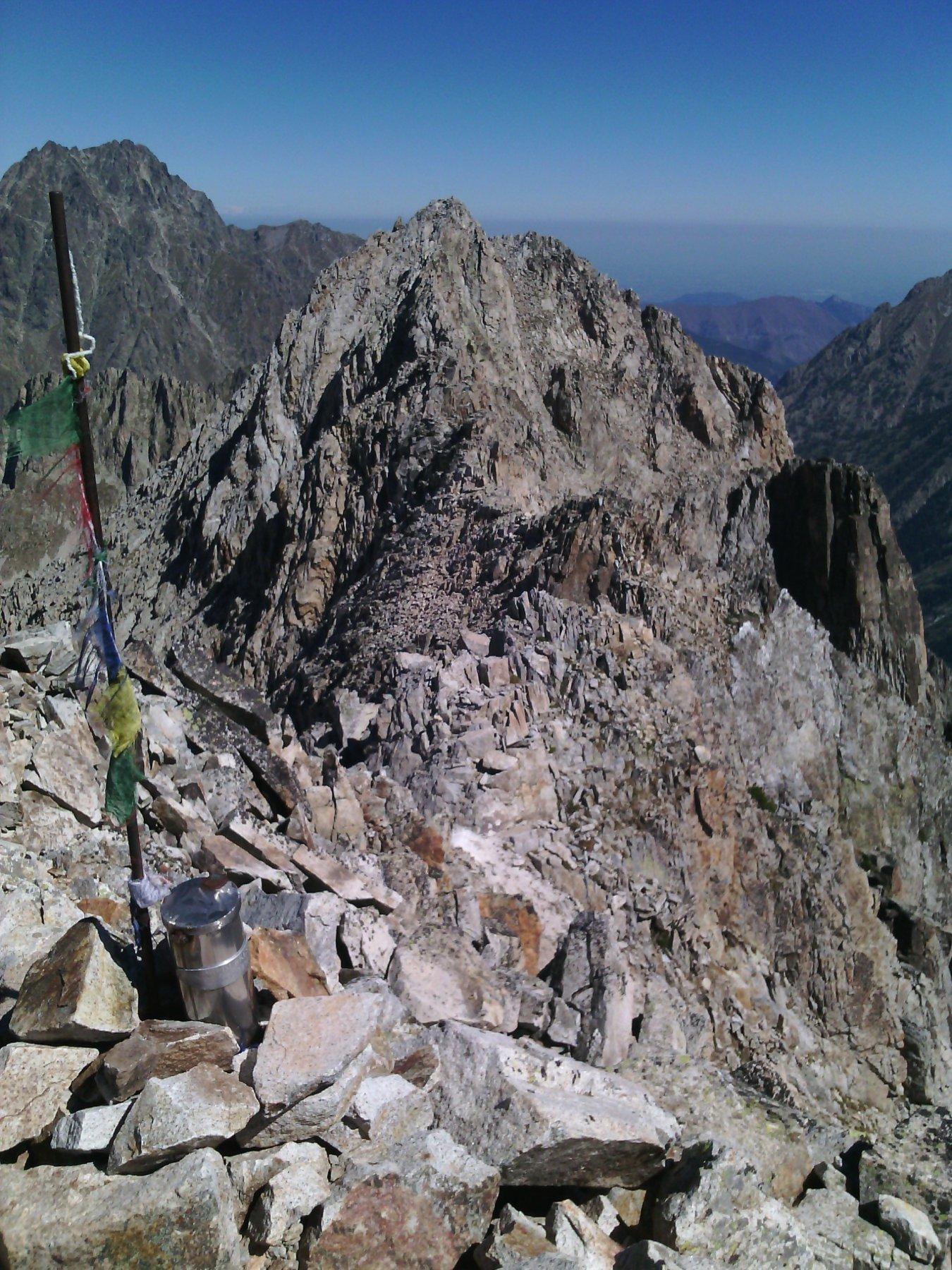 Bresses punta nord e a sx monte Matto
