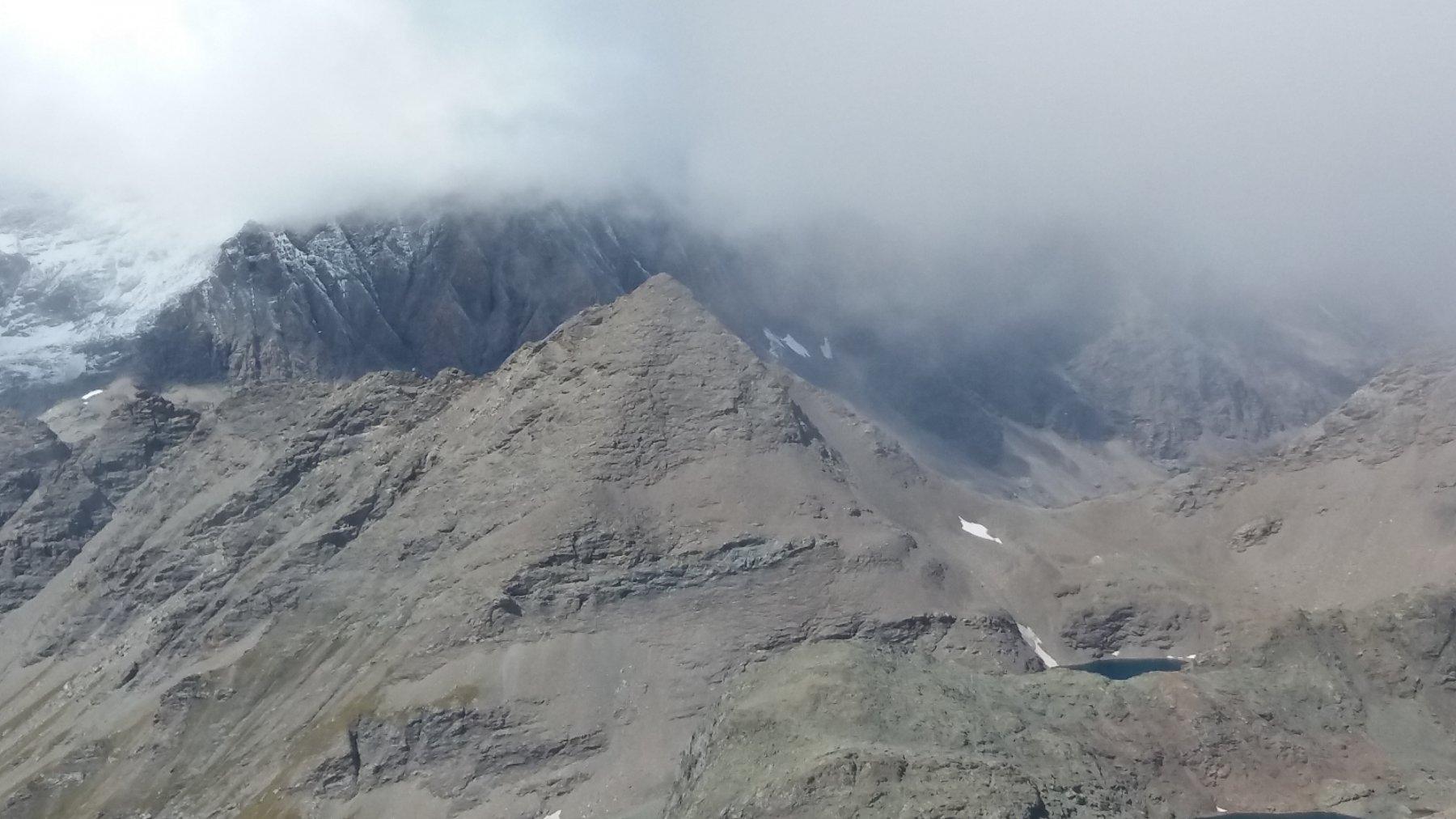 Punta Costan dalla cima