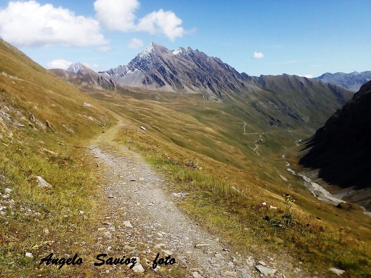 il lungo e bellissimo vallone des Chavannes