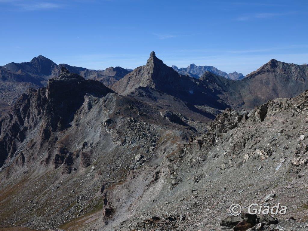 La Rocca Bianca, il Colle di Saint Veran e splendida Roc della Niera