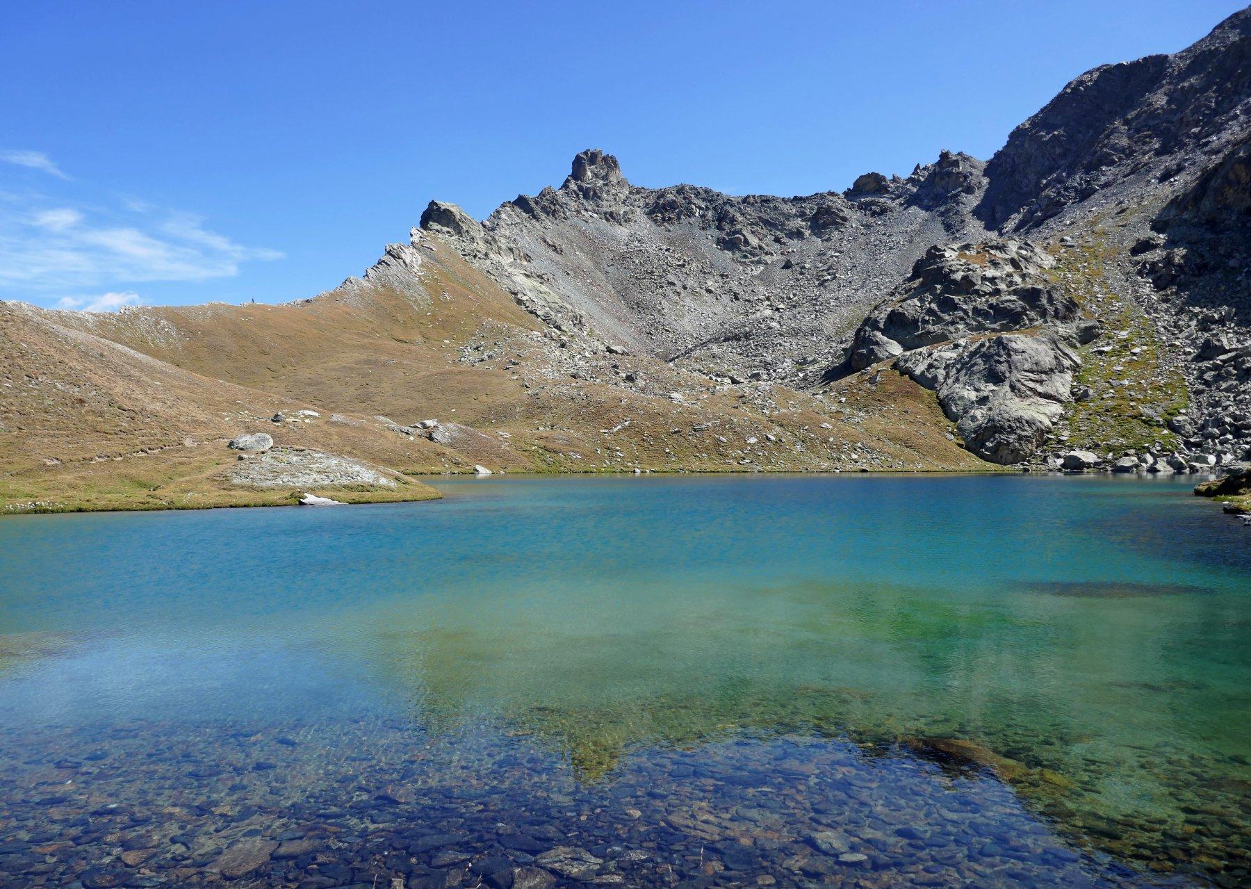 Il lago Nero e il Tour Real