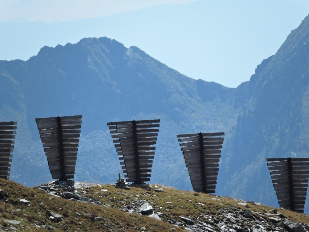 Paravalanghe sul Colle di Valnera