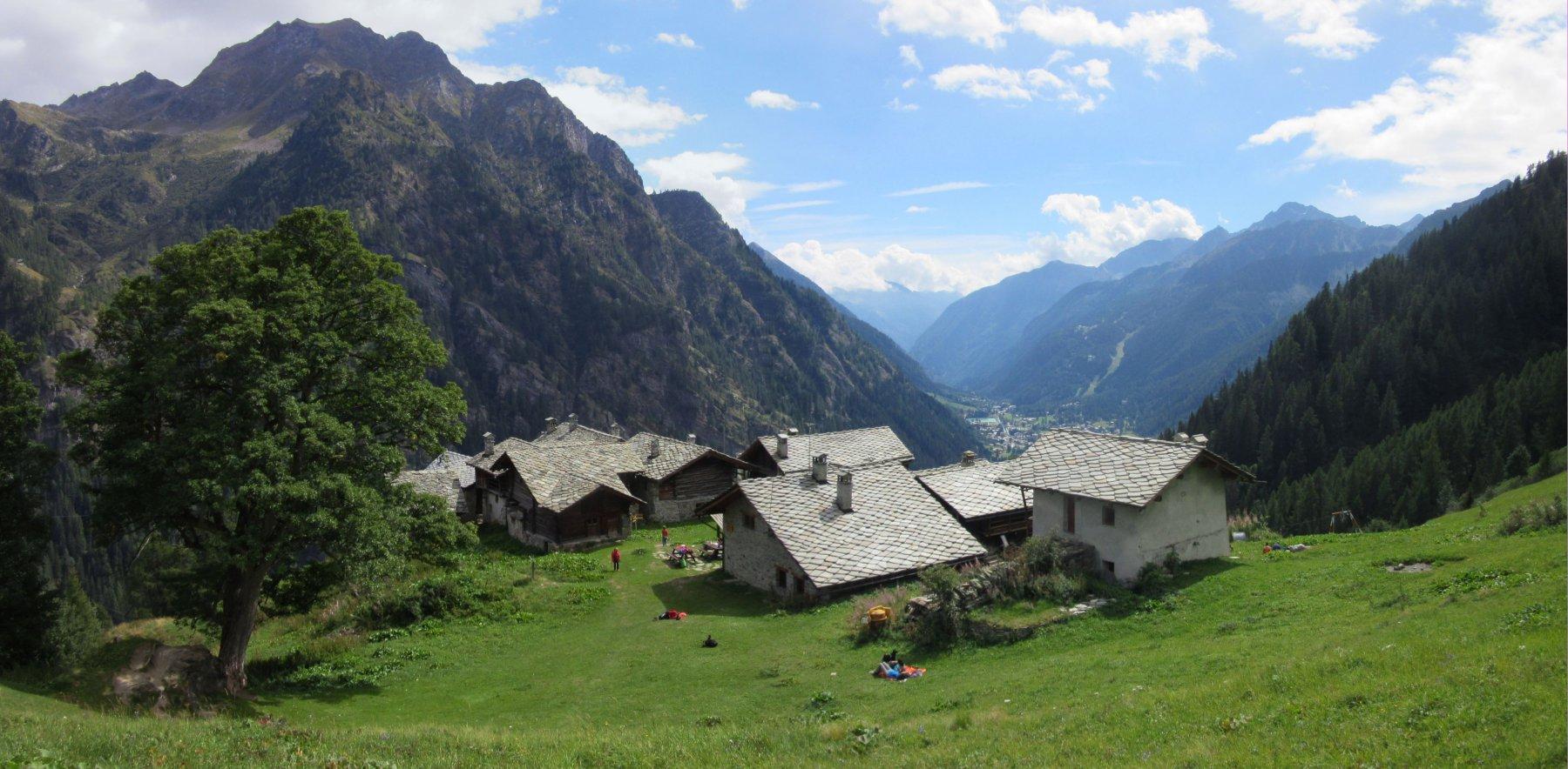 Alpenzù visto dall'alto
