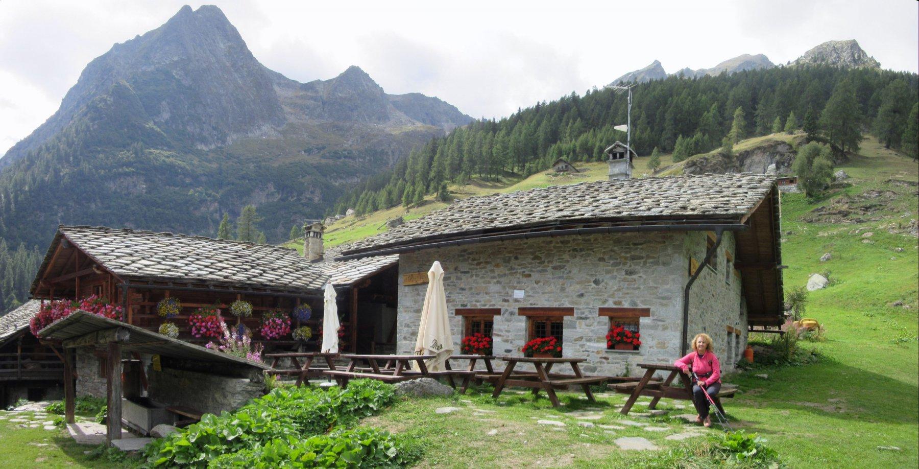 L'accogliente Rifugio Alpenzù