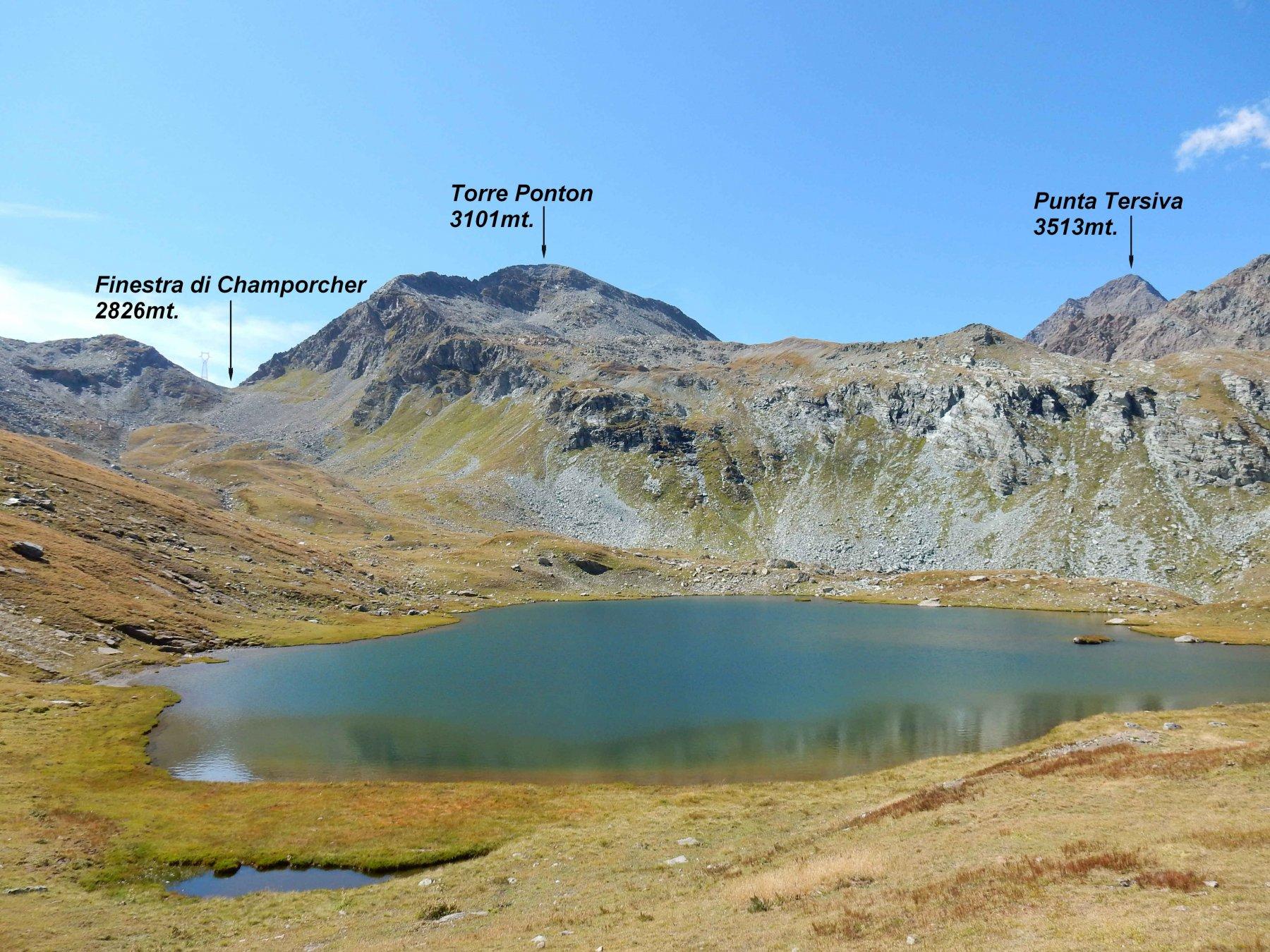 Glacier (Mont)dalla Val Clavalitè, anello 2017-09-04