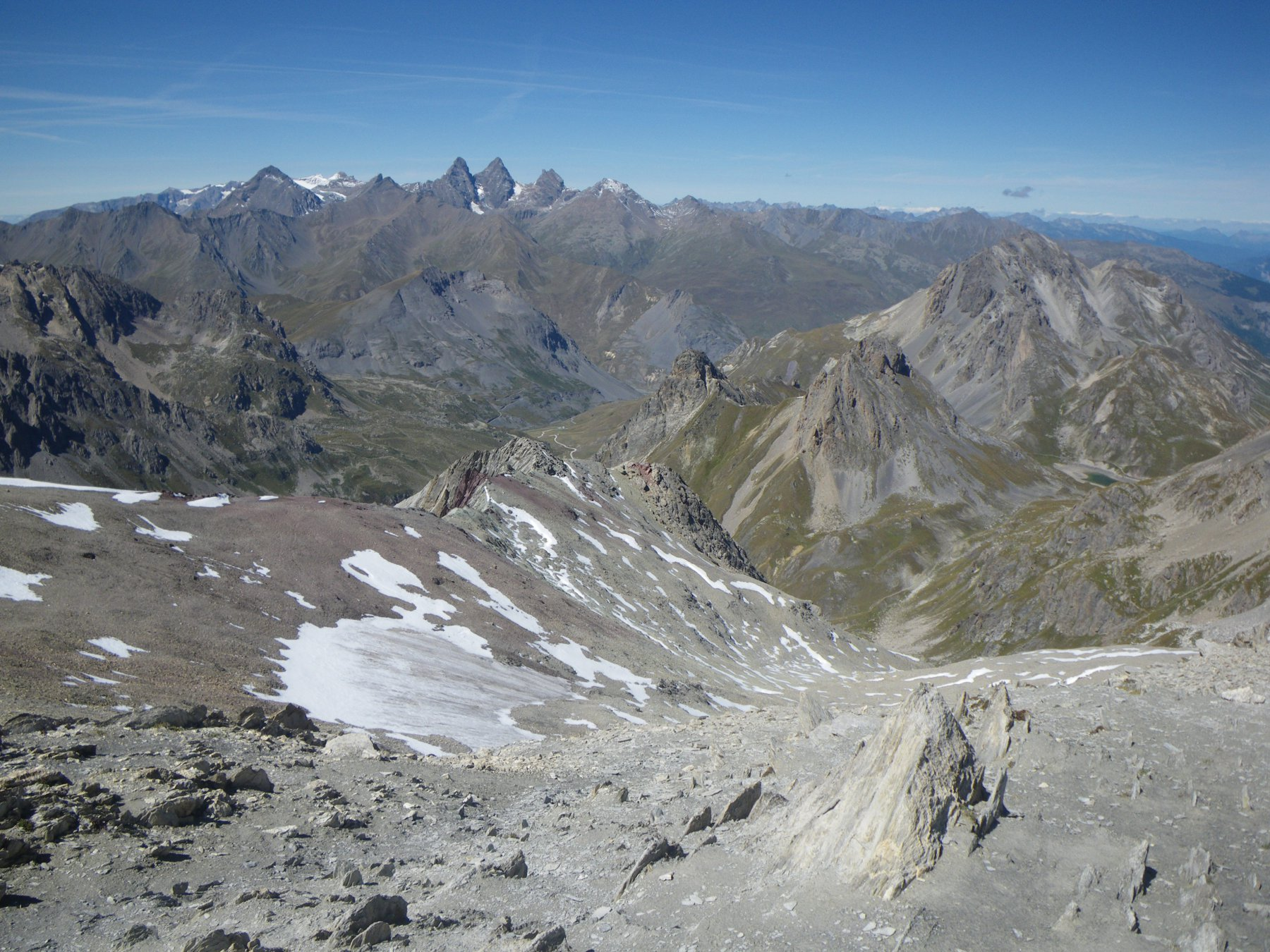 A.Arves e altro nivo-glaciato... dalla vetta