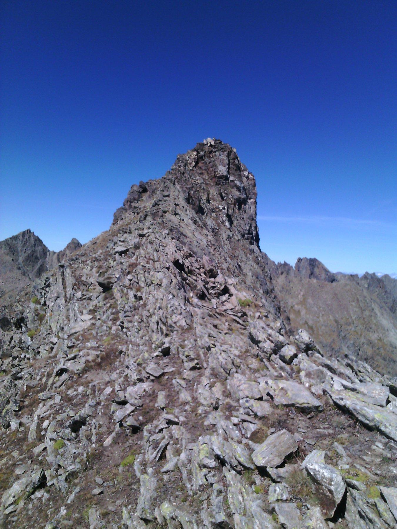 l'aguzza ovest della Montagnetta