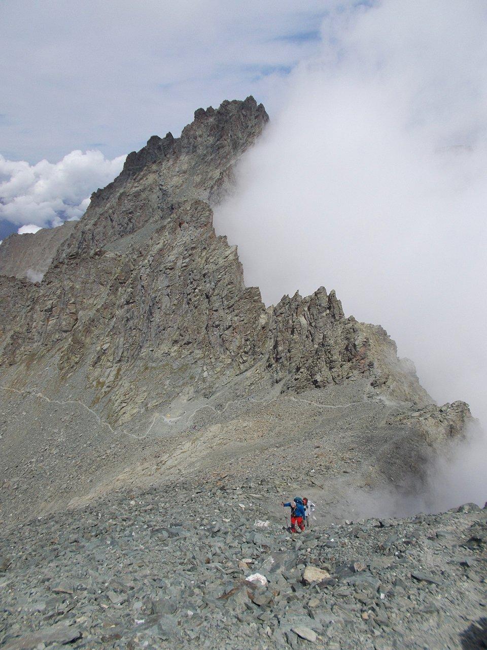 Il M.Granero ,salendo a Rocce Fourion