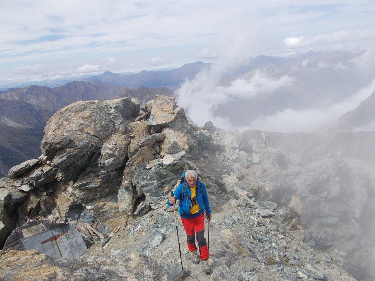 Granero (Monte) - Rocce Fourion Traversata da Pian del Re per il passo Seilierino e il Buco di Viso 2017-09-06