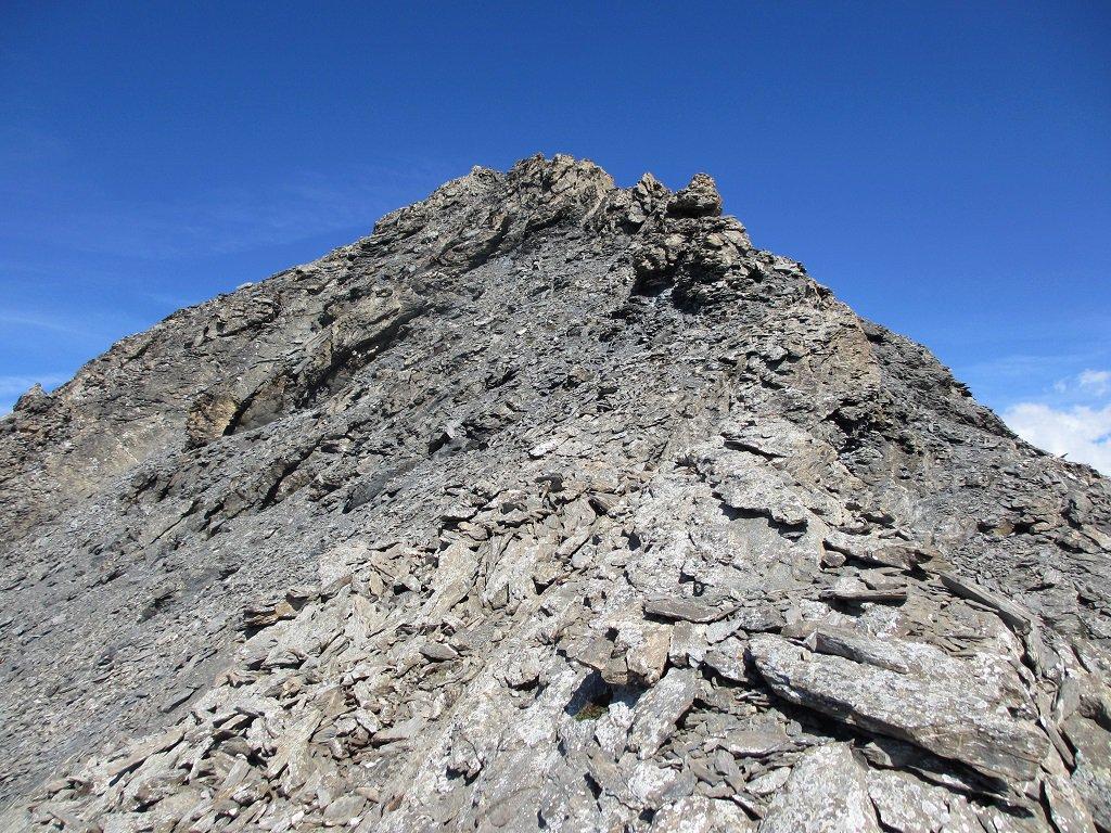 Dal colletto la cresta sud della Ciatagnera