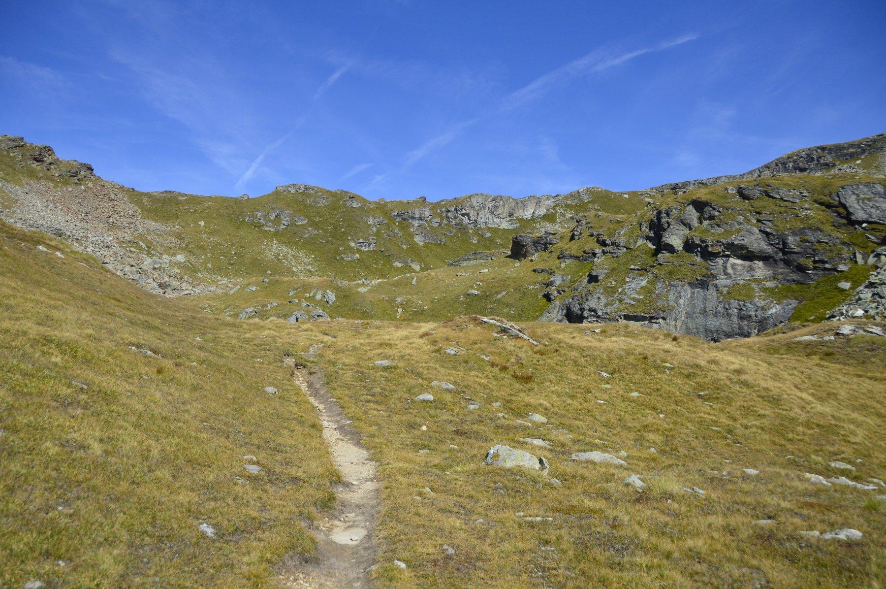 Verso i laghi Valfredda