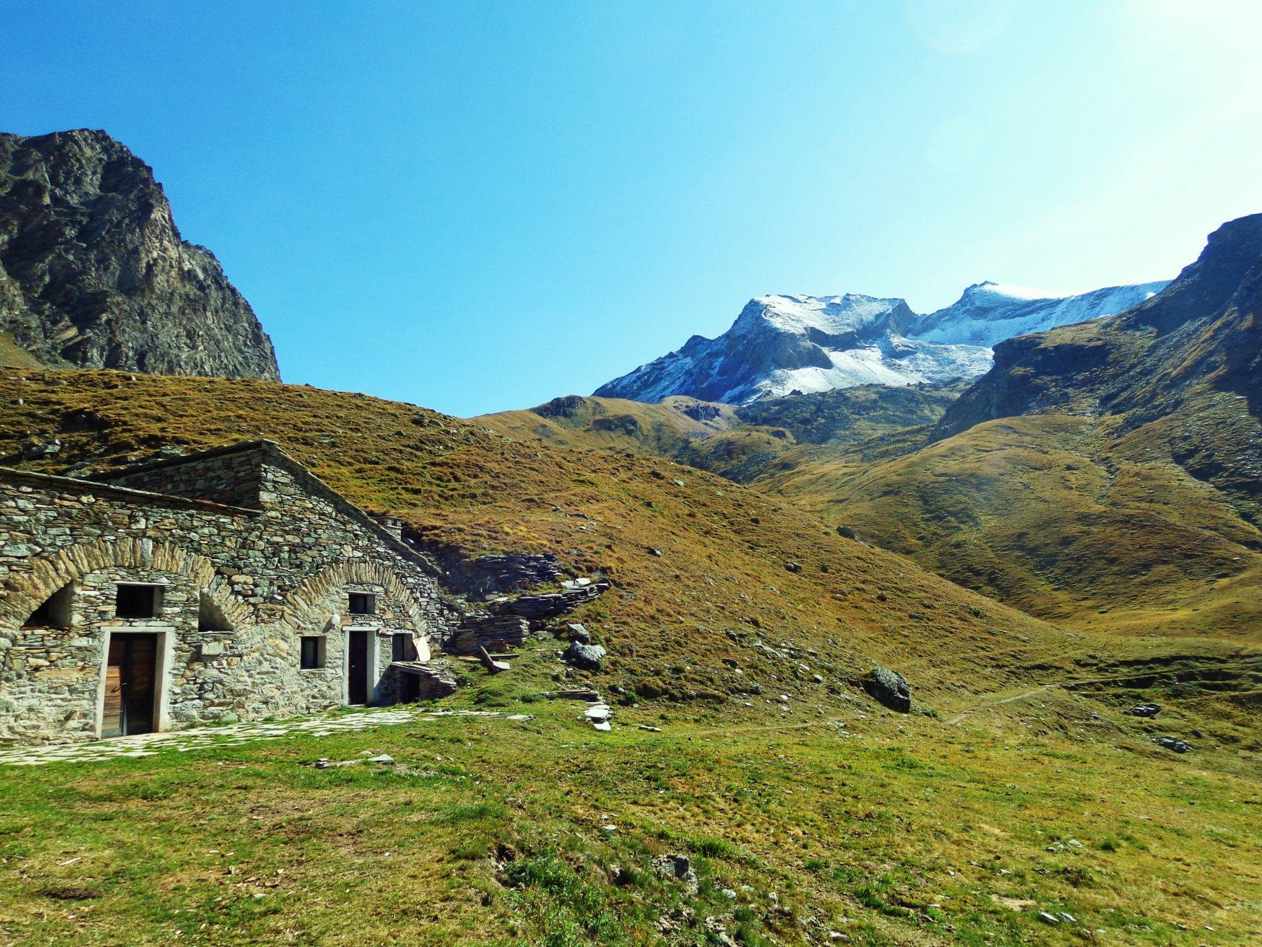 Dal casotto Vaudalettaz verso L'Aouillie e Mont Taou Blanc