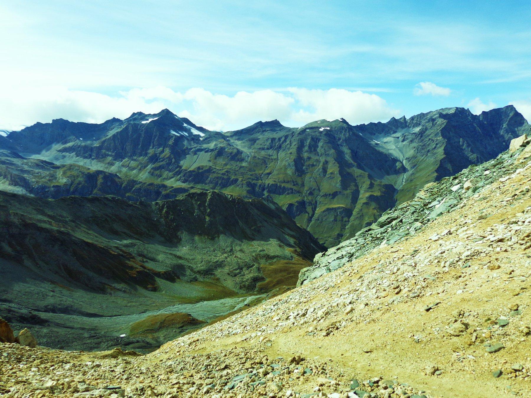 Dal Col Rosset verso la Val di Rhemes