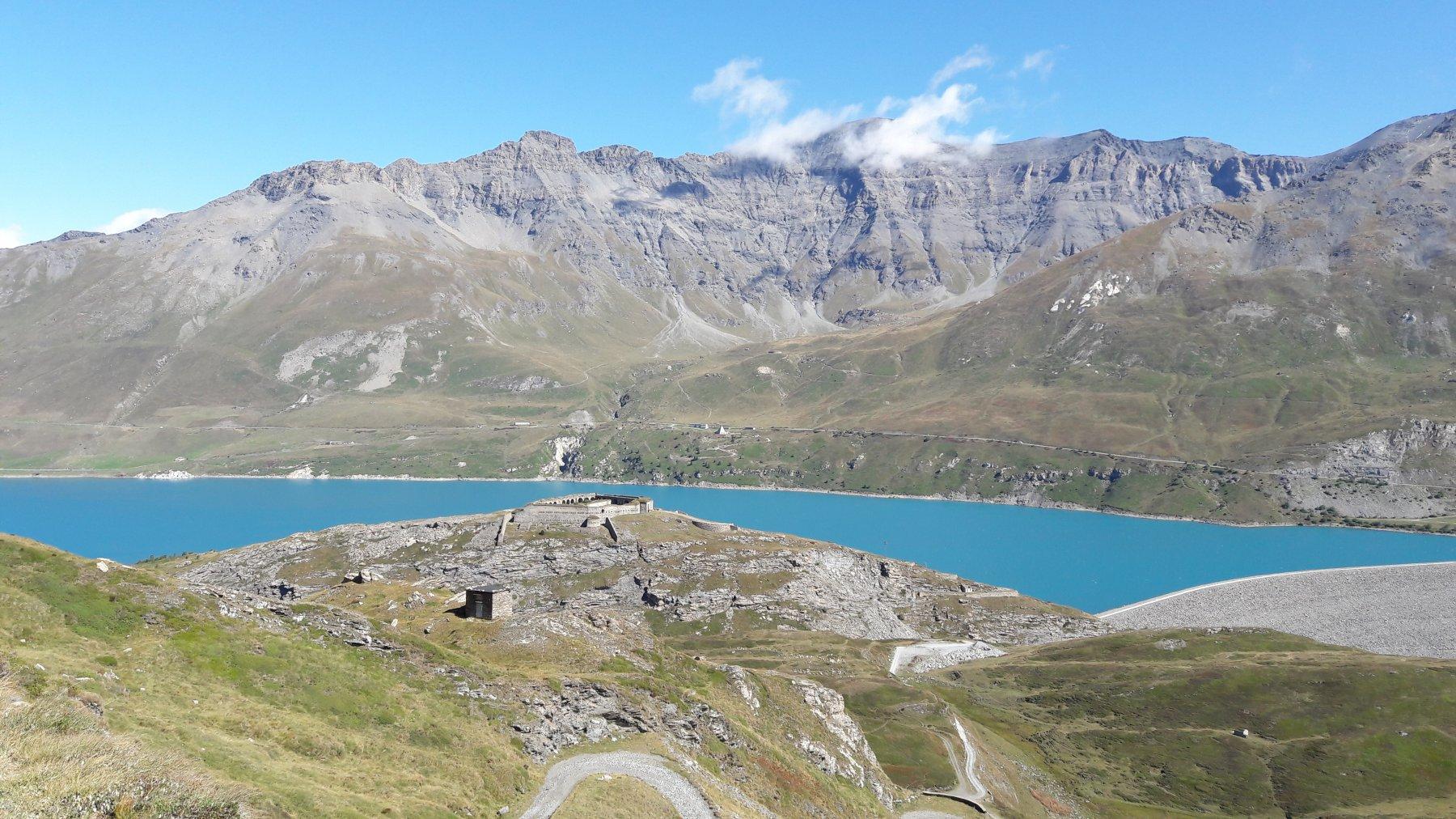 Il Moncenisio con il Fort de Variselle