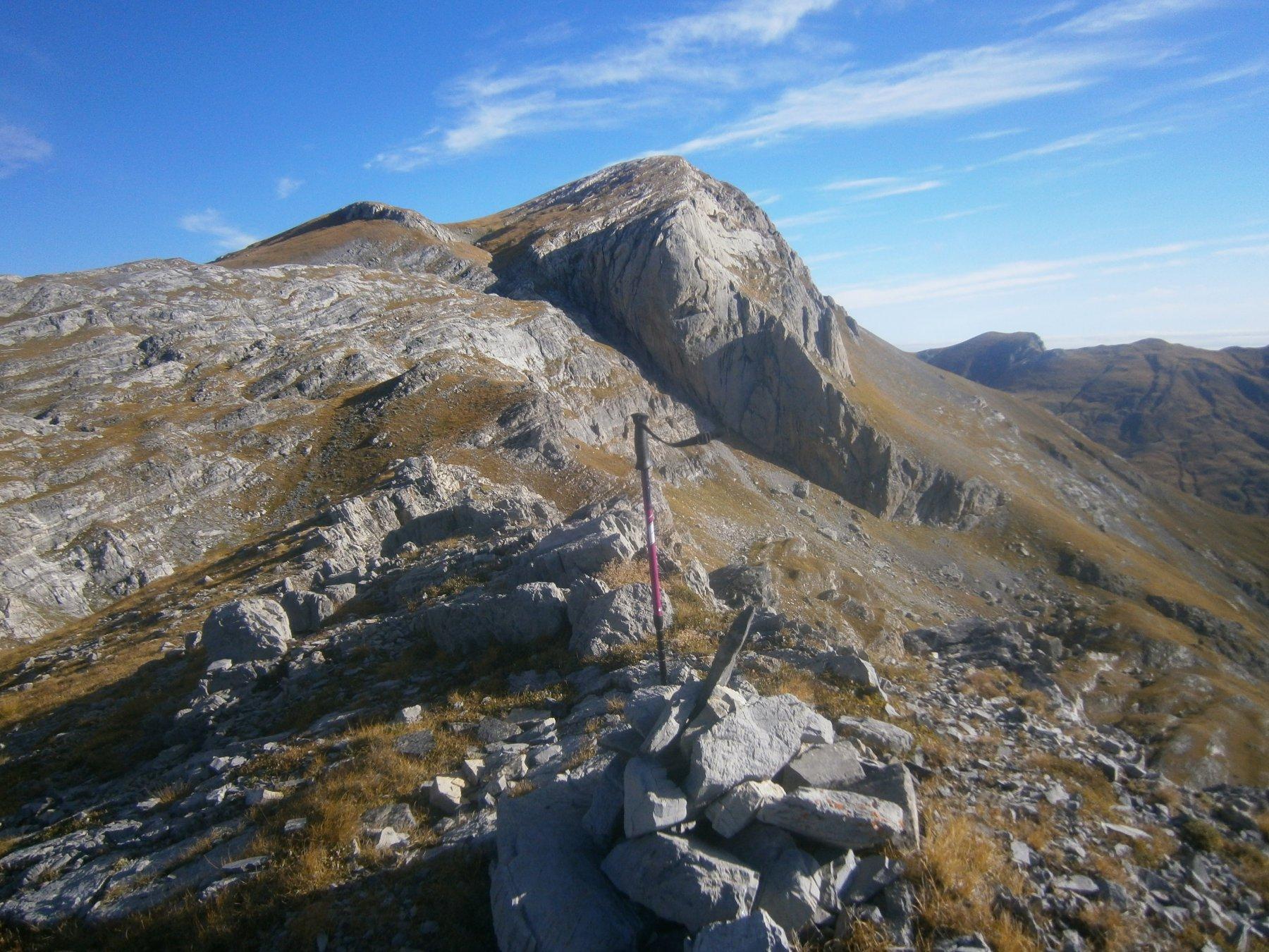 Le Saline dalla cima Arpetti