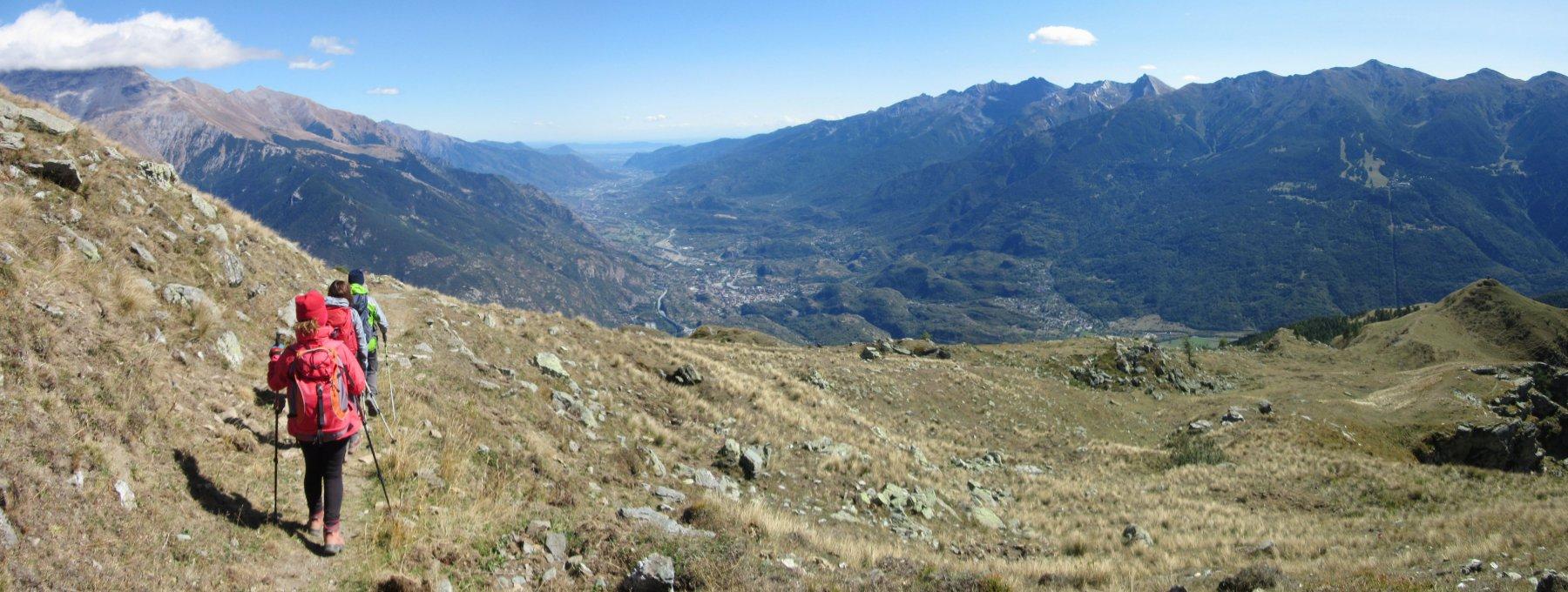 Panorama sulla Val Susa