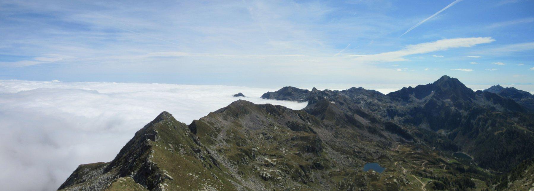 Nebbia verso il Biellese