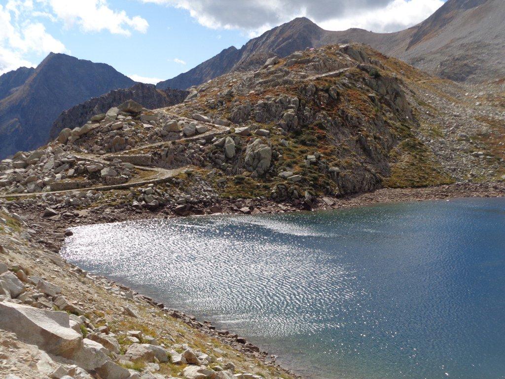 la mulattiera oltre il 2' lago