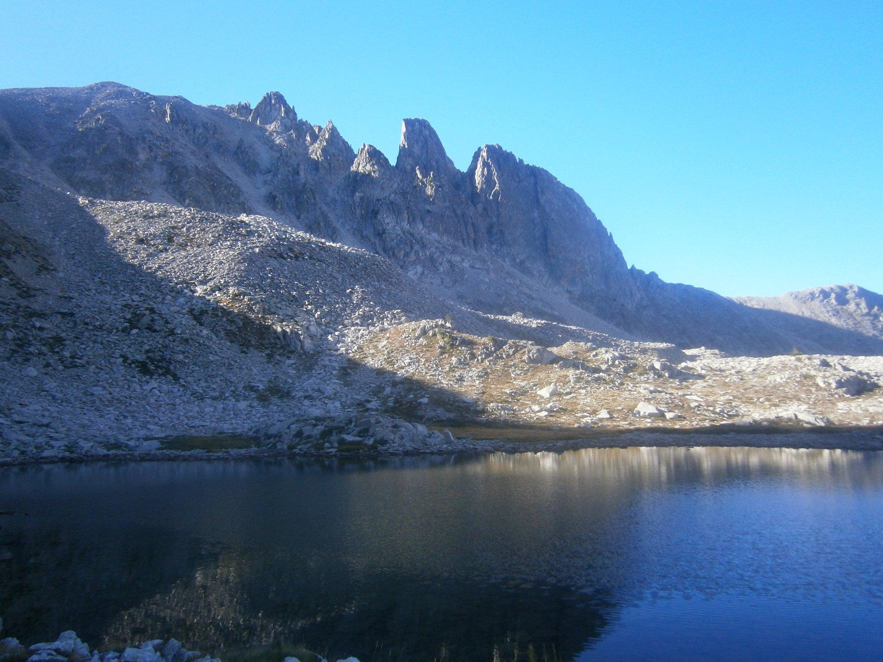 Cima e Cayre de Roguè dal laghetto quota 2393