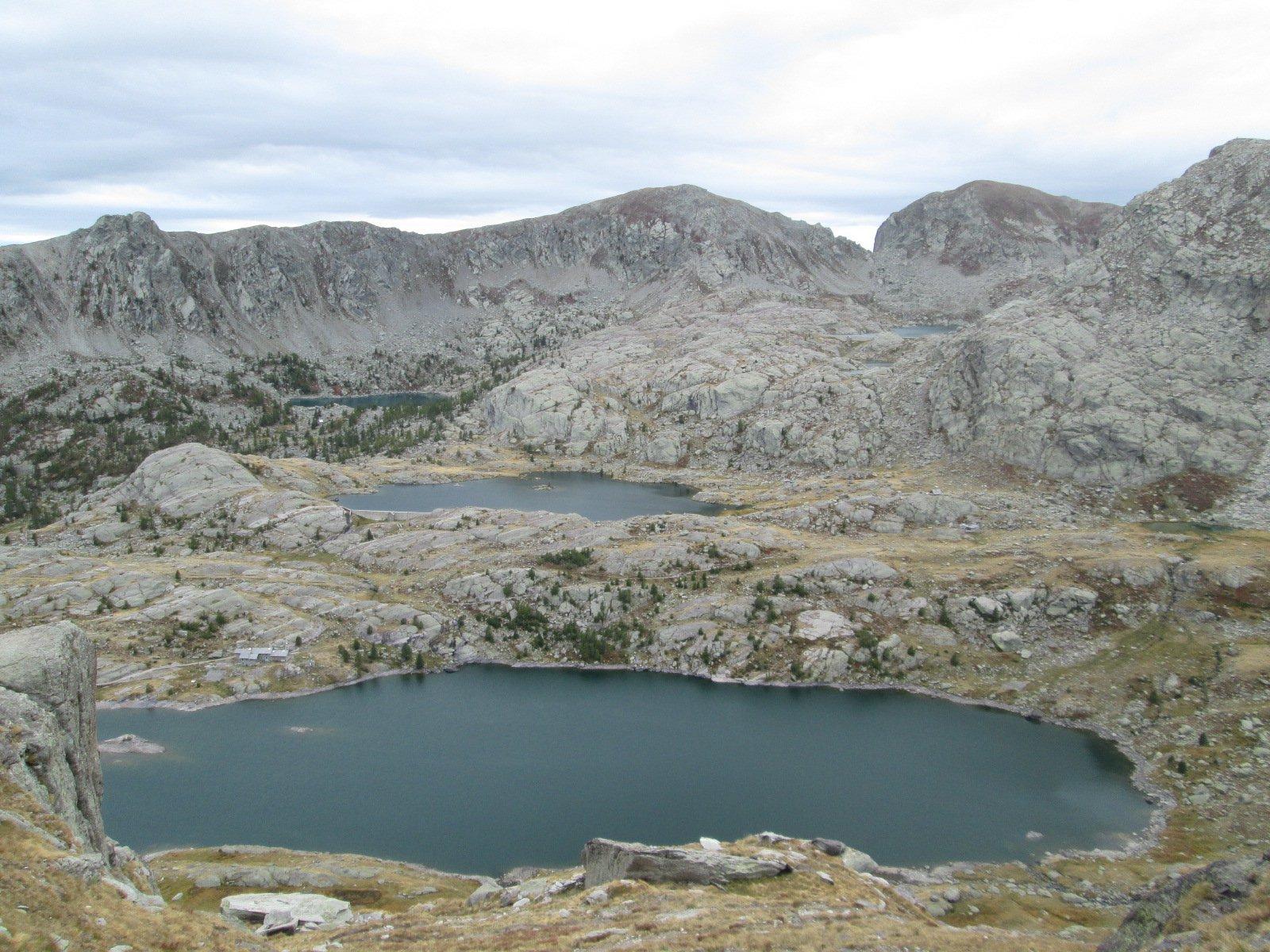 bella veduta sui laghi